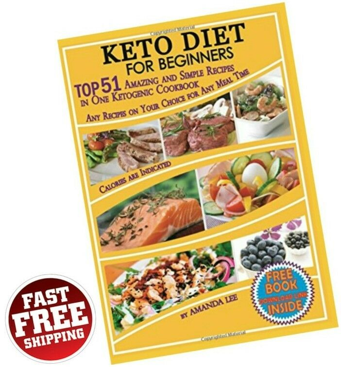 Keto Diet Recipes Beginners Ketogenic Cookbook Weight Loss ...